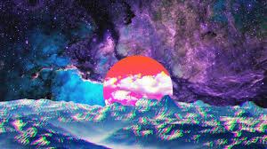 trippy aesthetic computer wallpapers