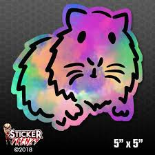 Colorful Guinea Pig Bumper Sticker Car Decal Pet Rodent Hamster Love Gift Fs824 Ebay