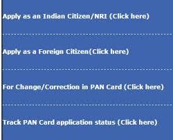 apply for pan card utiitsl how