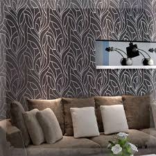 curve line non woven feature wall