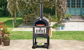 multi function outdoor pizza oven groupon