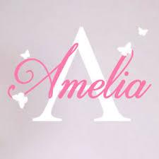 Girls Custom Name Personalised Wall Sticker Nursery Baby Initial Bedroom Decal P Ebay