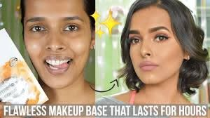 how to create flawless makeup base