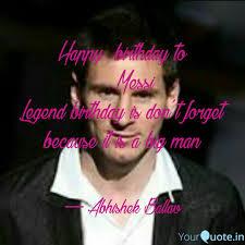 happy birthday to quotes writings by abhishek ballav
