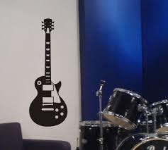 Gibson Vinyl Wall Logo Decal Sticker Guitar