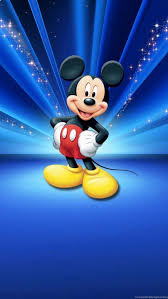 blue mickey mouse wallpapers top free