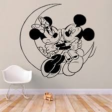 Mickey And Minnie Wall Decal Kuarki Lifestyle Solutions