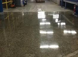concrete floor repair and polishing in