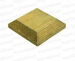 Wooden Post Top To Suit 3 75mm Fence Post Cap Decking Green Treated Actual Size 90mm Amazon Co Uk Diy Tools