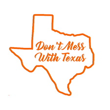 Don T Mess With Texas Decal For Yeti Water Bottle Coffee Mug Car Truck Ebay
