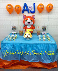 Cumpleanos Yo Kai Watch Decoracion Para Fiesta De Yo Kai Watch