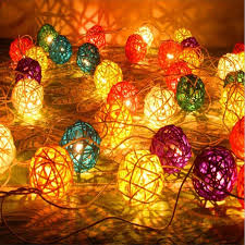 colorpai 20 led solar string lights