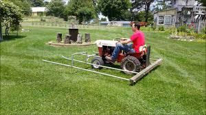garden tractor hay aculator you