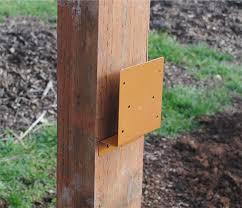Farm Fence Brackets Horse Fence Brackets Post And Rail Fencing