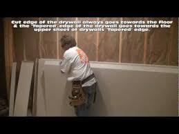 how to hang drywall on walls all i had