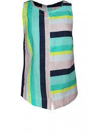 sandwich pastel jade striped linen