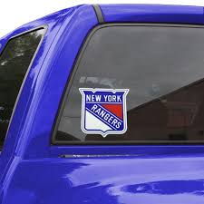 New York Rangers 5 5 X 7 5 Team Logo Color Decal