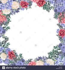 Bastidor De Diseno Floral Para Guardar La Fecha Tarjetas