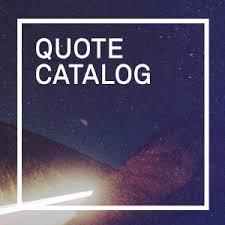 quote catalog