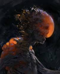 Creature sketch by EA Criterion Concept Artist Aaron Griffin.