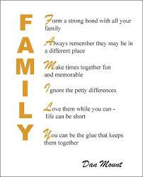 the family quotes about family blessings and importance