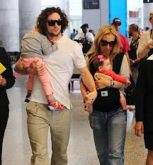 Aaron Taylor-Johnson & Family Arrive in Vancouver @babyrazzi | Sam ...