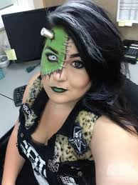 lady frankenstein costume and makeup