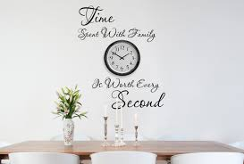 Time Spent With Family Wall Decals