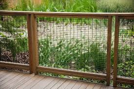 Hog Wire Fence Just For Gate Bungalow Landscaping Backyard Fences Fence Design