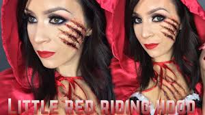 red riding hood halloween tutorial