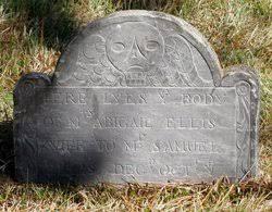 Abigail Ellis Ellis (1707-1735) - Find A Grave Memorial