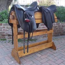 horse saddle stand diy project