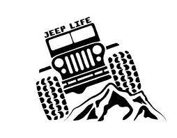 Jeep Life Decal Jeep Life Car Decal Jeep Life Vinyl Decal Jeep Life Window Decal Custom Sticker Jeep Decal Jeep Life Decal Jeep Decals Jeep Life