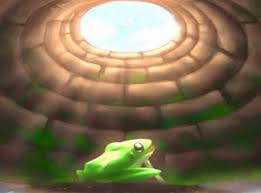 Triết lý của con ếch, muốn to bằng con bò, thật thú vị