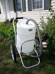 smart water cart wheelbarrow for garden