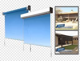 glass patio display device sun shade