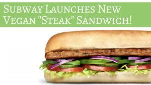 vegan steak sandwich