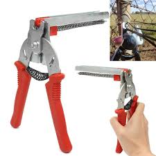 Red Flat Mouth Hog Ring Pliers Heavy Duty Crimping M Nail Plier Fencing Fence Wire Ringer Gabion Mesh Tool Mayitr 160 140mm Get Red Flats Mesh Tool Pliers