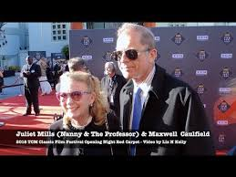 TCM 2018 – Juliet Mills and Maxwell share Hollywood Marriage ...