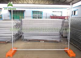 6ft 12ft Chain Link Temporary Fence Panels Mobile Construction Fence Panels