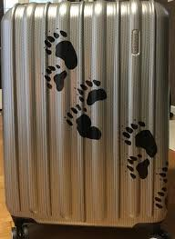 Bear Paws Prints Set 12 Bear Tracks Vinyl Decal Sticker Wall Etsy