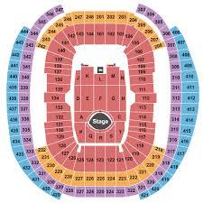 allegiant stadium seating chart rows