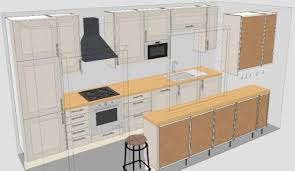 galley kitchen layout at in seven