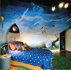 Space Room Peyton Would Love This Space Themed Bedroom Space Themed Room Bedroom Themes