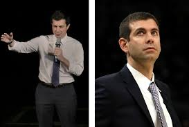 Pete Buttigieg and Brad Stevens dressed as each other for Halloween - The  Boston Globe