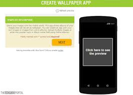 wallpaper apps with no coding skills