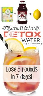 cleansing detox water recipe to lose