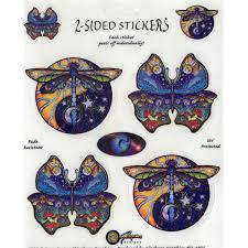 Dragonfly Butterfly Multi Art Decal Window Sticker