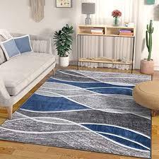 well woven swell blue modern geometric