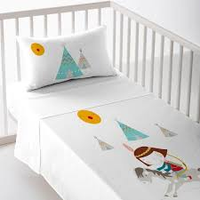 indian crib sheet set creaciones euromoda
